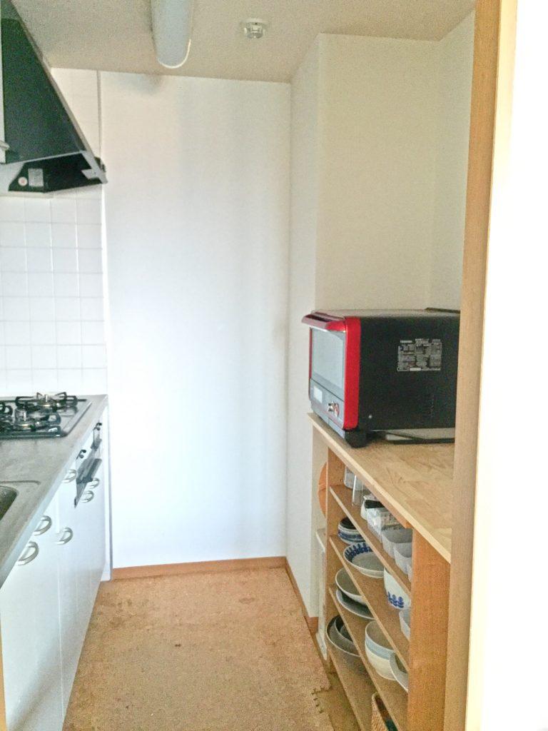 狭い キッチン 配置 快適