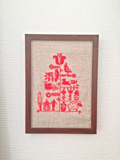刺繍 クリスマス