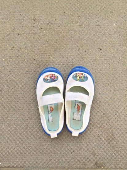 キューレンジャー 上靴