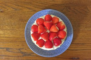 手作りケーキ いちご