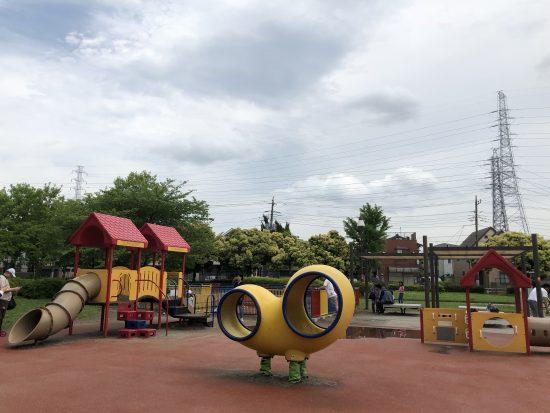 舎人公園 遊具