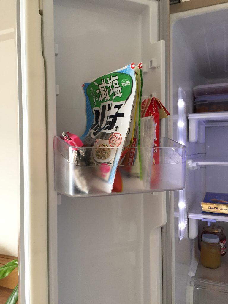 冷蔵庫 ポケット 断捨離
