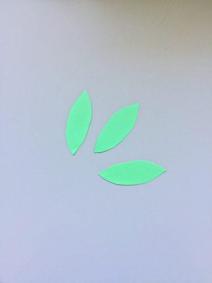 画用紙 葉っぱ