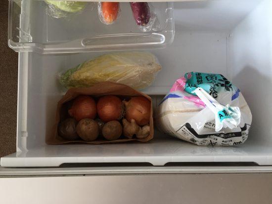 冷蔵庫 コメ