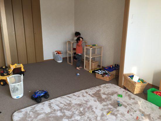 リビング 子供スペース