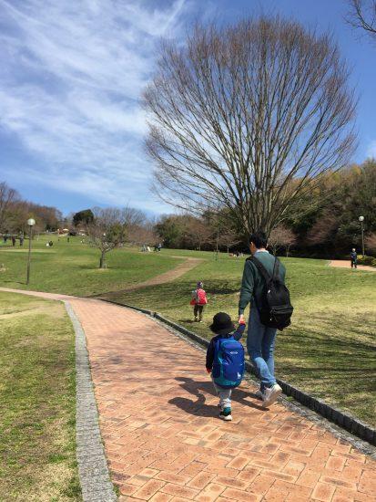 鴻巣山公園 水遊び