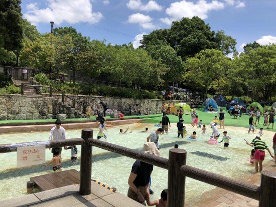 京都 水遊び