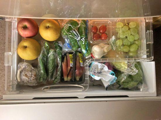 野菜室 シンプル