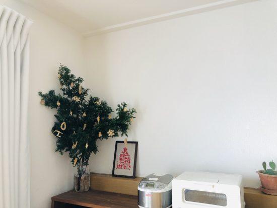 クリスマスツリー リビング