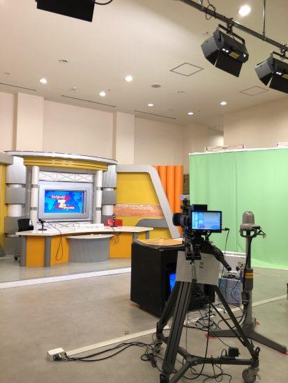 キッザニア テレビ局