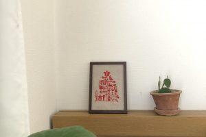 クリスマス 刺繍