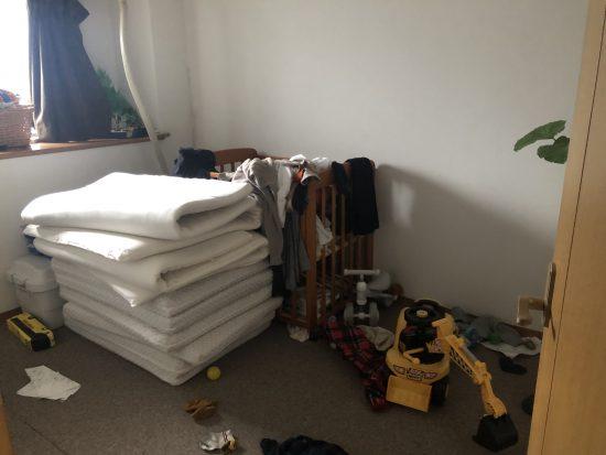 部屋 汚い